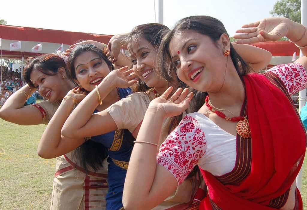 Image result for bihu dance